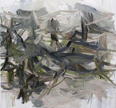 Underbrush OIl on Canvas 34 x 34