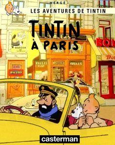 Les Aventures de Tintin - Album Imaginaire - Tintin à Paris