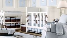 64 Blue Nursery Ideas  We have thousands of pictures in our vault that have been collected over  the past couple years. We have been organizing the images into albums so  that we can offer you some weekly inspiration. Here are some cute blue  nursery designs meant to inspire. Check out ourInterior Design Picture  Galleriesfor more inspiring images.