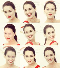 obsessed with Emilia Clarke...she has such a simple elegance about her