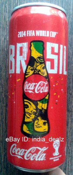 Coca Cola India Coke Empty Can 330ml 2014 FIFA World Cup Brazil -Rare  | eBay