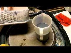 ▶ Glazing Technique - Underglaze Wash -Adapted from Lana Wilson's slip decorating - YouTube