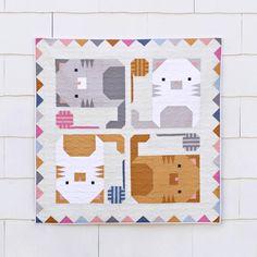 Kitten Around Quilt | Craftsy