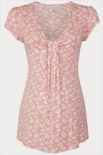 Blusa rosa para embarazo