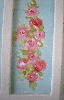 how to paint roses in mini
