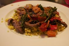 8 years old Chef Juju cooks Moroccan Couscous