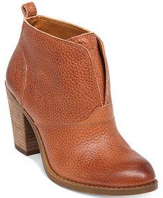 cd4eadbdfd3 Lucky Brand Women s Ehllen Booties   Reviews - Boots - Shoes - Macy s