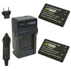 Wasabi Power Battery and Charger Kit for Contour 2350, 2450, 2900, C010410K and ContourHD, ContourGPS, Contour+