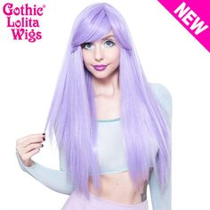 Gothic Lolita Wigs®  Bella™ Collection - Lavender Mix 00681