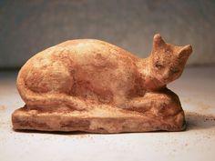 Egyptisch katten beeld.