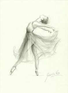 Ballerina Print Ballerina Sketch Print of Drawing Picture Ballerina Ballet Dancer Ballerina Wall Art Girl Room Decor Gift for Girl Drawing Sketches, Cool Drawings, Drawing Tips, Drawing Poses, Sketching, Drawing Tutorials, Drawing Ideas, Pencil Drawing Inspiration, Pencil Art