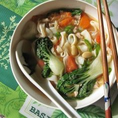 Shirataki Noodles Soup