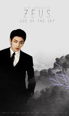 Jungkook God of Lightning
