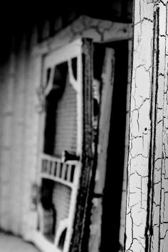 Front door. Utah. Black and white. High Contrast. Photo by Harvey Brand Imagery