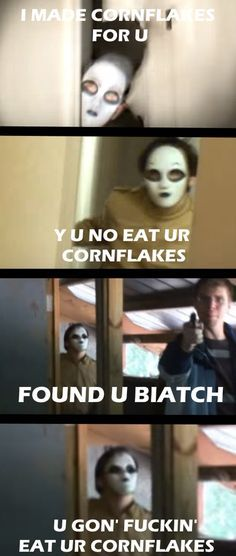 I know this is Marble Hornets but I'm pinning it on my creepypasta board