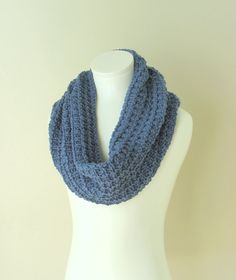 Knit Snood Oversized Chunky Scarf Infinity Cowl / by VeraJayne