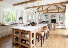 26 Best Farmhouse Kitchen Island Decor Ideas On a Budget