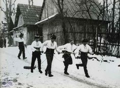 Fašiangy chodenie s klátom na Popolcovú stredu