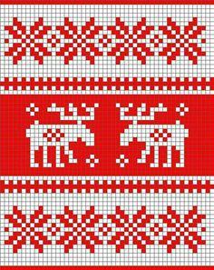 Mønster til grytekluter Knitting Charts, Knitting Patterns Free, Crochet Patterns, Knit Cowl, Knit Crochet, Little Cotton Rabbits, Stocking Pattern, Christmas Cross, Double Knitting