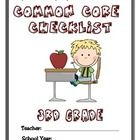 Get organized from the start with this Common Core Checklist Packet for 3rd grade ELA standards. This product includes:  -A complete list of 3rd ...