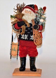 "Snow Country Santa No.# 1117 $ 330.00 Yr. 1997 18"""