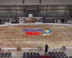 a vilag legnagyobb pizzája Basketball Court, Sports, Hs Sports, Sport