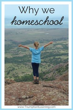 Having a clear vision of why you homeschool helps you persevere through challenges and simplifies planning your school year. Here's why we homeschool.