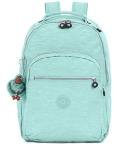Kipling Seoul, Slate Grey: Large backpack with laptop protection and padded shoulder straps. Green Backpacks, School Backpacks, Laptop Backpack, Backpack Bags, Laptop Bags, Adidas Backpack, Mochila Tommy, Nylons, Mini Mochila