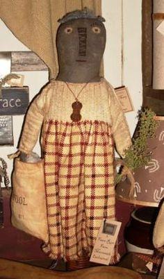 primitive dolls, folk dolls