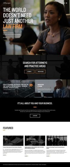 The definitive guide to the best lawyer website designs for 2017 Find great attorney law firm and legal website design examples and tips here Lawyer Website, Law Firm Website, Website Design Layout, Website Design Inspiration, Design Ideas, Lawyer Jokes, Corporate Law, Corporate Design, Design Web