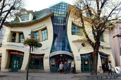 The Crooked Architecture, Sopot, Poland