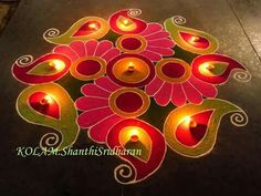 Beautiful and unique Rangoli Easy Rangoli Designs Videos, Easy Rangoli Designs Diwali, Rangoli Designs Latest, Simple Rangoli Designs Images, Rangoli Designs Flower, Free Hand Rangoli Design, Colorful Rangoli Designs, Rangoli Ideas, Flower Rangoli