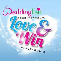 #loveandwin prachtige trouwprijzen bij WeddingFair Trouwbeurzen