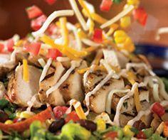 Copycat recipe for Chili's Quesadilla Explosion Salad! Mmmmmmmm