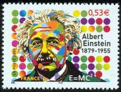 Albert Einstein Stamp France