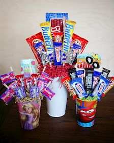 Candy Bouquet How-To