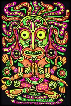 ~ Psychedelic Art ☮~ღ~*~*✿⊱╮Hippie Style, Free Spirit, Boho, - レ o √ 乇 !! ✿⊱╮❥☮