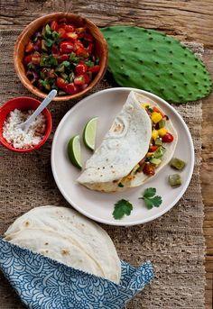 Vegan take on a Mexican favorite - #Vegan #Fajitas