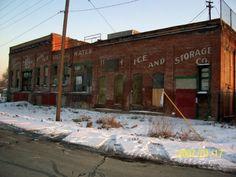 Utah Ice and Storage City Scene, Old Signs, Slc, Old City, Salt Lake City, Heaven On Earth, Historical Photos, Utah, Postcards