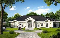 Projekt domu parterowego Rezydencja parkowa 4