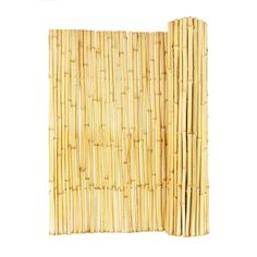 Forever Bamboo in. Natural Rolled Bamboo Fence - The Forever Bamboo in. Natural Rolled Bamboo Fence is step 1 in your plan to build a fence that's different from all the rest. Bamboo Panels, Bamboo Fence, Fence Panels, Bamboo Roof, Concrete Fence, Cedar Fence, Concrete Blocks, Reed Fencing, Garden Fencing
