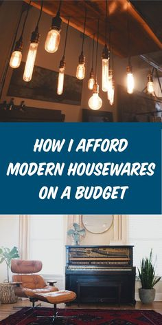 This is how I get modern-chic d�cor on a budget. This budgeting trick made decorating my home a breeze.