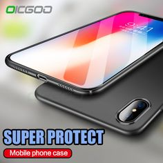 OICGOO Ultra Thin Back Hard PC Full Cover Cases For iPhone X 10 Case Luxury Anti-knock Case For iPhone 10 X Phone Cases Cape //Price: $9.95 & FREE Shipping //     #hashtag1