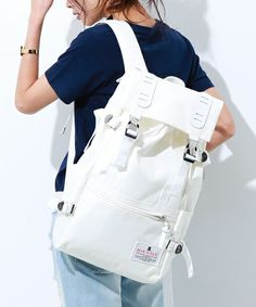STUDIOUS SELECT (Studios select) of [MAKAVELIC] TRUCKS DOUBLE BELT DAYPACK [MEDIUM] (backpack / backpack) | White