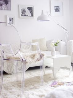 1000 images about kartell on pinterest philippe starck ghost chairs and m - Chaise imitation starck ...