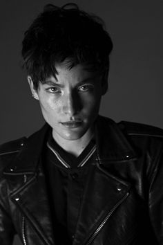 """bittersweetreverie: """"Androgynous model Heather Kemesky, for more pic check out heatherkemeskyfanpage """""""