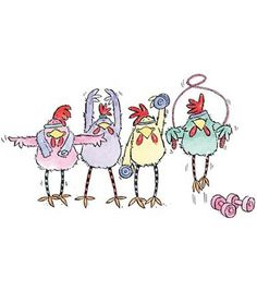 """Penny Black Rubber Stamp """"Stamps from chickens into Cookbooks"""" Always with… Chicken Signs, Chicken Art, Penny Black Karten, Chicken Painting, Chickens And Roosters, China Painting, Digi Stamps, Rock Art, Cute Drawings"""