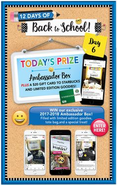 I just entered to win an Ambassador Box from Creative Teaching Press!