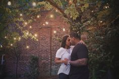 Brooklyn Bridge Park Engagement Shoot by Photonika - having lights just for atmosphere if this bleeds into twilight to allow for twilight chair scene