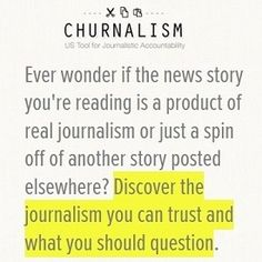 Plagiarists, be warned. Theres a new browser tool called Churnalism that prowls the Web looking for blatant examples of cut-and-paste chicanery in news articles and other online content.